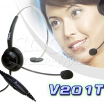 V201T HEADSET FOR LANDLINE TELEPHONE & CALL CENTER