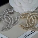 Chanel Brooch ตัวเรือนสีทอง/สีเงิน งานชุบ 18KGP ไม่ลอกไม่ดำ Made in Korea