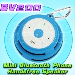 SEE-ME-HERE BV200: Mini Portable Wireless Bluetooth Phones Handsfree Speaker