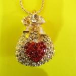 502 Jewelry Purse ถุงทอง อัญมณี 3.5* 4.0 cm
