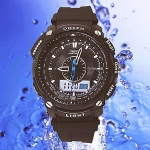 OHSEN – AD1209-1: Dual System Alarm / Chronograph Sports Watch
