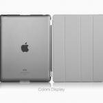 (สีเทา) Smart Cover แยกชิ้นส่วนออกจากกันได้ (เคส iPad 2/3/4)