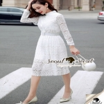 Seoul Secret Lovely Ladiest Lace Dress