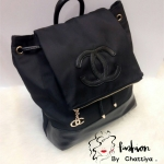 *Chanel nylon blackpack*