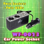 WF-0023 - Twin Power Socket & Twin USB