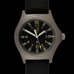 MWC G10 100m GTLS NATO Titanium Model Military Watch