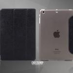 (สีดำ) MOOKE (เคส iPad Air 1)