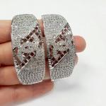 Chanel Bracelet กำไลข้อมือชาแนลงานเพชร CZ แท้ค่ะ รุ่นนี้สำหรับสาวข้อมือเล็ก