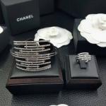 Diamond Bracelet+Ring กำไลข้อมือและแหวนเข้าเซต ดีไซส์สวย เก๋มากๆ งานเพชร CZ แท้งานเกรดไฮเอน