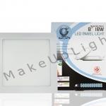 LED PANEL SLIM 18w Square 8 inc สินค้ารับประกัน 2 ปี มี มอก.