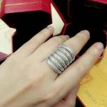 Diamond Ring แหวนเพชร CZ แท้ เพชร 6 แถว งานเพชรสวยเลอค่า