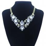 y1445 - สร้อยหิน สร้อยคอ สร้อยหินนำโชค เครื่องประดับ big necklace pendant clavicle popular