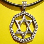 417 Lucky star of David ขนาด 3 * 3 cm