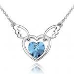 H839 - สร้อยเพชร,สร้อยคอเงิน,สร้อยคอเพชร,สร้อยคู่รัก,สร้อยจี้,เครื่องประดับ necklace angel