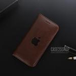 (สีน้ำตาลเข้ม) เคสหนัง Apple (เคส iPhone 6/6S)