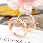 AX2528 - แหวนทอง,แหวน,ทองคำ,เครื่องประดับ shaped female fashion rose gold plated alloy rings