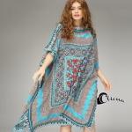 เสื้อผ้าเกาหลี Cliona Cozy Dress ชุดเดรสทรงสี่เหลี่ยมผืนผ้า