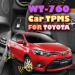 ROYCEED WT760 Car TPMS With Miniature Monitor For TOYOTA