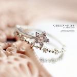 AK1824 - แหวนเพชร,แหวนเงิน,แหวน,แหวนคู่รัก,เครื่องประดับ Crown Ring
