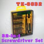TE-6032 ไขควงเอนกประสงค์ 32 In 1