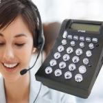 VT400 HEADSET TELEPHONE FOR CALL CENTER