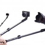 ไม้เซลฟี่ รุ่น คลิปล็อค Monopod Selfie ด้ามยาง