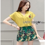 Lady Ribbon Martha Summer Casual Colorful