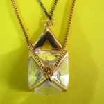 532 pyramid necklace