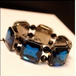 AI1771 - สร้อยข้อมือ,กำไลข้อมือ,กำไล,สร้อยข้อมือทอง,กำไลทอง,เครื่องประดับ retro large stones nightclub diamond bracelet
