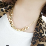 A72 - สร้อยคอแฟชั่น,สร้อยคอ,สร้อยแฟชั่น,เครื่องประดับ European and American stars same necklace chain necklace