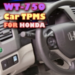 ROYCEED WT750 Car TPMS With Miniature Monitor For HONDA