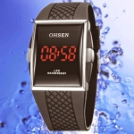 OHSEN – LED0750 Black Digital Display Fashion Watch