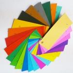 กระดาษสีโปสเตอร์บาง สีหน้าเดียว