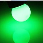 หลอดไฟE27 3W สีเขียว สินค้าประกัน2ปี มี มอก