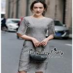 ชุดเดรสเกาหลีซิปซ่อนเกรดดี Lace Dress