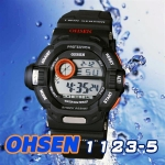 OHSEN – 1123-5 : Alarm / Chronograph Sports Watch