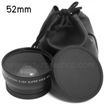 Wide Angle & Macro Conversion 0.45x ขนาด 52mm