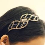 S1207 - Hair Accessories,ที่คาดผม,เครื่องประดับผม,กิ๊ปติดผม,เครื่องประดับ crystal hair hoop