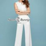 Sweet Bunny Present... Premium Pectoral White Pants Set
