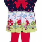 **Winnie's** SM1755-2 Size 3, 6, 9m เสื้อผ้าเด็กขายส่ง ยกแพค 6 ชุด ครบไซส์
