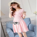 Lady Ribbon Lady Katherine Candy Sweet Lace Mini Dress