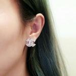 *Chanel Earring งานเพชรปาเก็ต*
