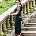 Lady Ribbon Cindy Crepe Jumpsuit