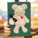 HuAng เคสการ์ตูนหมี (เคส iPad Air 2)