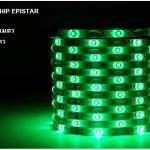 ไฟเส้น LED Strip 3528 กำลังไฟ 12V IP33 งานภายใน แสงเขียว สินค้ารับประกัน 1 ปี