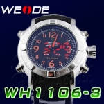 WEIDE – WH-1106-3: Dual System with Hidden LED Sports Watch