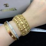 Gold Bracelet งานชุบทอง 18K งานทองล้วนสวยๆ ใส่เต็มๆข้อมือ สร้อยยาว 6 นิ้ว ตัวเรือนสีทอง