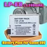 LP-E8 Battery For Canon EOS 550D, 600D, 650D, 700D & Others