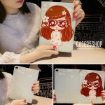 เคสการ์ตูน Cute Girl Dilian (เคส iPad Air 1)