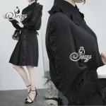 เสื้อเชิ้ตดีไซด์เก๋ๆ แนวสาวเกาหลีรุ่นนี้ ดีเทลเล่นขอบคอปกด้วยผ้าอัดพลีทซ้อน ไล่ช่วงบ่ายาวไปที่แขนเสื้อจนถึงข้อแขน สามารถ Mix & Match เปลี่ยนลุคใส่กับยีนส์ กางเกง หรือกระโปรง ได้หลายแนวเลยนะคะ